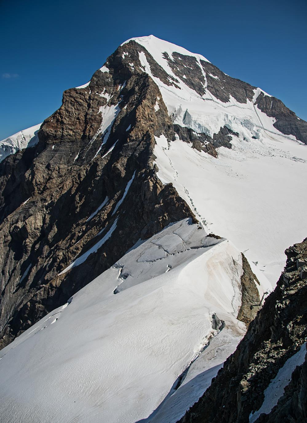 Monch from Jungfraujoch 1