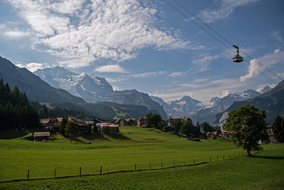 View from Wengen 2