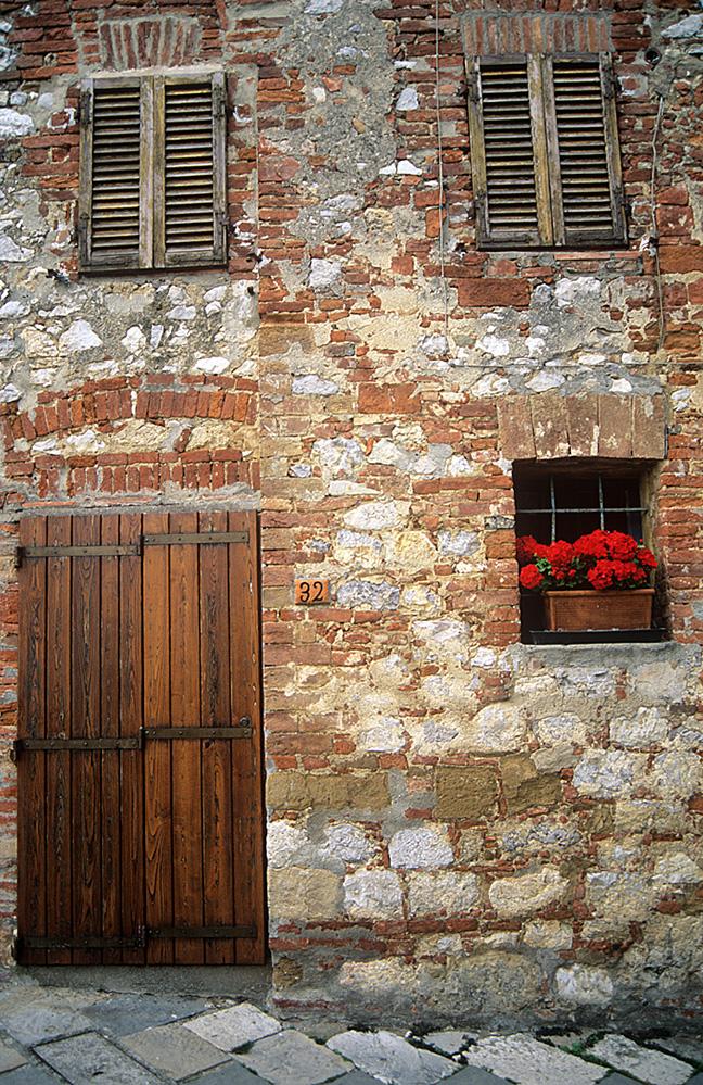 House Facade, Monticchiello