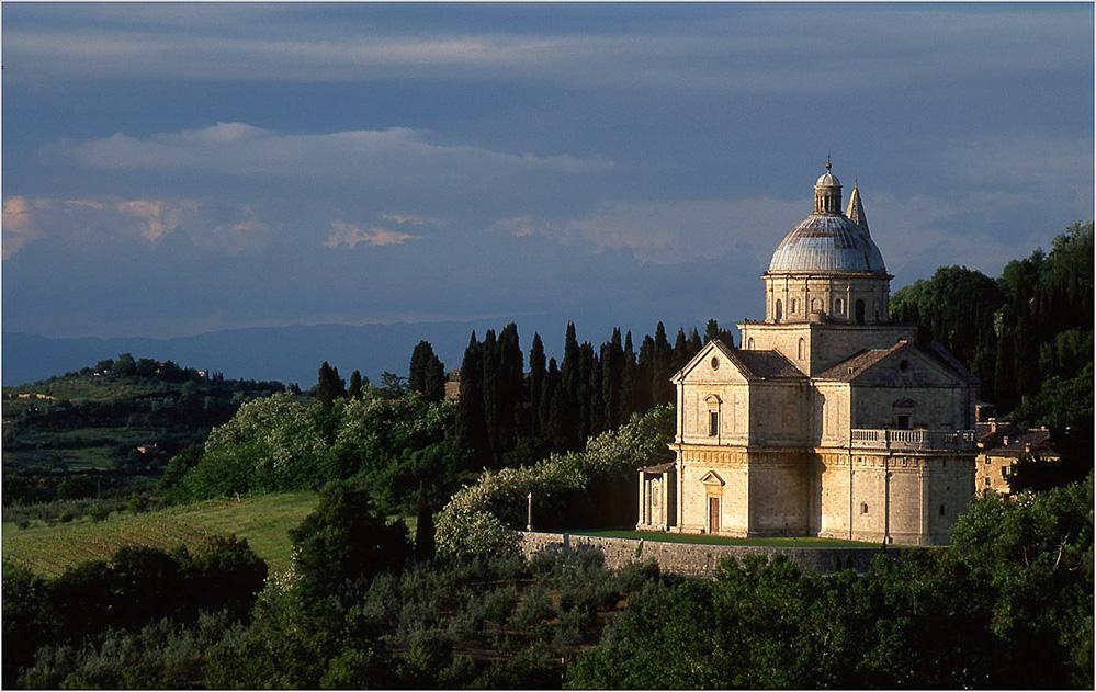 The Church of San Biagio, Montepulciano
