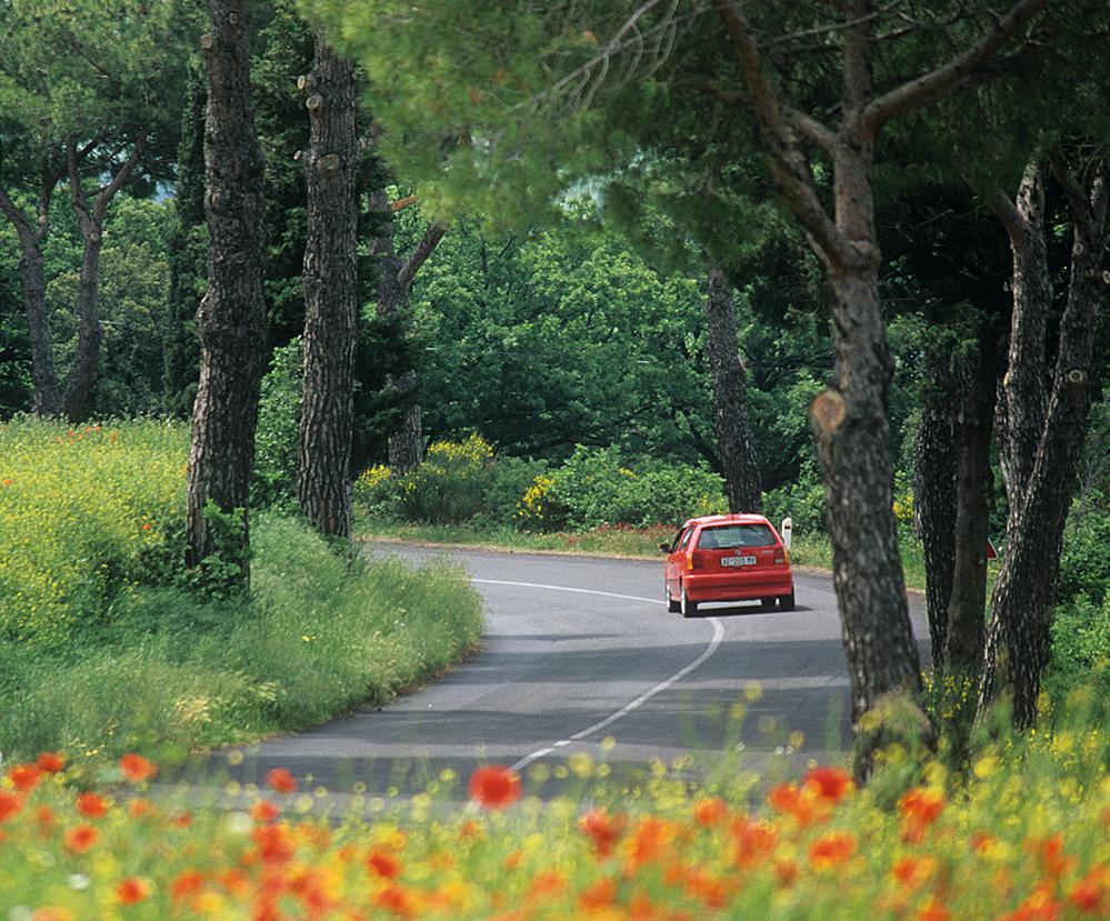The Red Car, La Foce