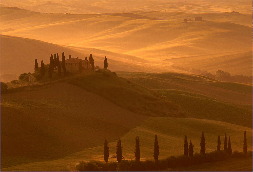 Tuscan Dawn, San Quirico