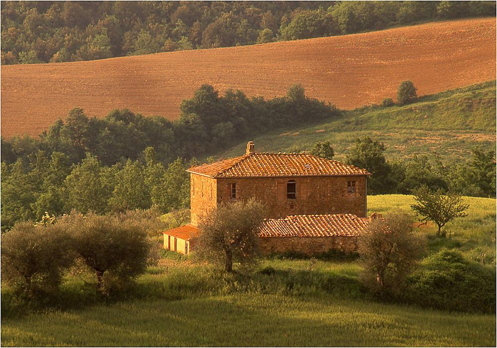Tuscan Farmhouse, near Pienza
