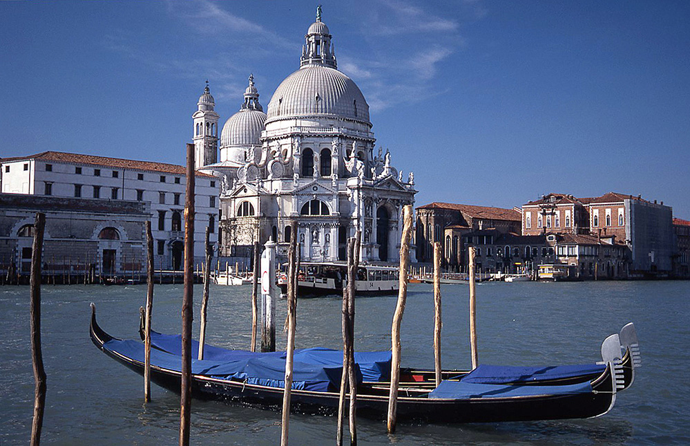 The Salute Church by the Grand Canal