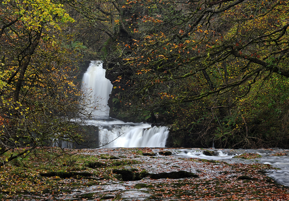 Gushing Falls, Brecon Beacons