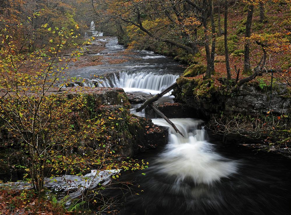 Horseshoe Falls, Brecon Beacons 1